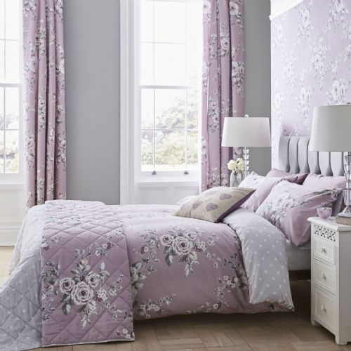 Catherine Lansfield Canterbury Heather Bedding Set